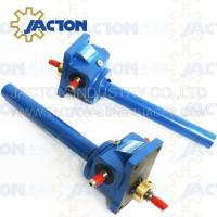 Wholesale 3 Ton Acme Screw Jack Lifting Screw Diameter 32MM Lead 6MM Gear Ratio 6:1, 12:1 and 24:1 from china suppliers