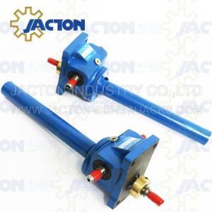 3 Ton Acme Screw Jack Lifting Screw Diameter 32MM Lead 6MM Gear Ratio 6:1, 12:1 and 24:1