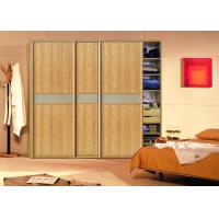 Wholesale Contemporary Design Pvc Board Sliding Door Wardrobes 18mm Mdf Board Carcass from china suppliers