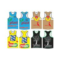Wholesale Men's Sublimation Triathlon Singlet Lycra Tri Tank Craft Running Clothing from china suppliers