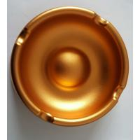 Wholesale Custom Golden Anodized CNC Machining Parts Aluminum Ashtray Commodity from china suppliers