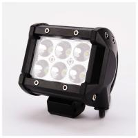 Wholesale 18W Aluminum Housing Truck/SUV/ATV LED Car Work Light Bar from china suppliers
