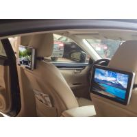 Wholesale 10.1 Inch HD Dual Core Taxi Digital Signage , Car Headrest Digital Advertising Screens from china suppliers