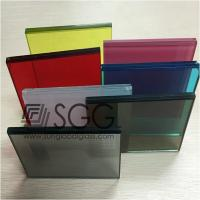 Wholesale 1.14mm PVB Laminated Glass Clear Bronze Euro Gray F Green Ford Blue Dark Gray Dark Green D from china suppliers