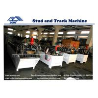 Wholesale CD and UD Stud and Track Roll Forming Machine 0.3-0.8mm Galvanized Steel from china suppliers