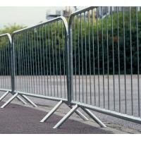 Quality Crowd Control Barricade Panels 1100mm x 2200mm hot dipped galvanized to 42 microns for sale