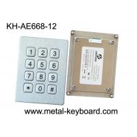 Wholesale Weatherproof Metal Keypad with 12 keys for Intelligent express cabinet from china suppliers