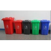 Wholesale 100LGarbage bin with 2 wheel in virgin plastic material garbage bin with wheels from china suppliers