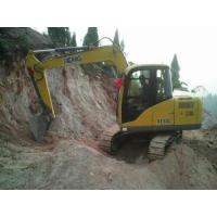 Wholesale Four Strokes Mini Hydraulic Excavator , Case Mini ExcavatorMax Digging Reach 6130mm Water Cooling from china suppliers