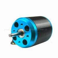 Wholesale Blue Silver Outrunner Brushless DC Motor with 500kV Rational Speed, Suitable for RC Airplane from china suppliers