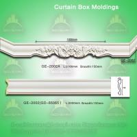 Wholesale PU curtain box mouldings from china suppliers