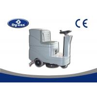 Wholesale 980mm Squeegee Width Ride On Floor Scrubber Dryer , Ground Cleaning Machine from china suppliers
