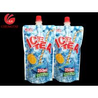 Wholesale Custom 250ML Stand Up Spout Pouches / Doypack Packaging for Ice Tea from china suppliers