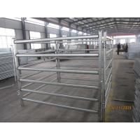 Wholesale Heavy duty Cattle Yard Horse Fencing panels 1.6m x 2.1m,1.8m x 2.1m oval pipes horse yard panels for sale melbourne from china suppliers