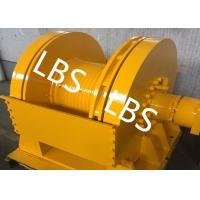 Buy cheap Professional Hydraulic Driven Winch For Hoisting Appliance/ Pulling Force 5.5 from wholesalers