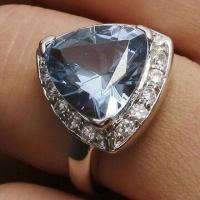 Wholesale Attractive Sapphire 925 Silver Ring, OEM/ODM Orders Welcomed from china suppliers