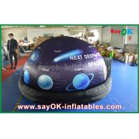 Wholesale ROHS Full Print With Start Inflatable Planetarium Dome Tent For Movie Projection from china suppliers