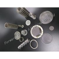 Wholesale Stainless/Aluminum / Brass / Phosphor Copper Plain Weave Wire Mesh Filter from china suppliers