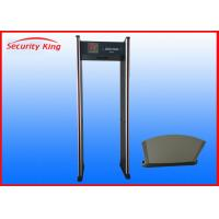 Wholesale 6 Zone LED Water Resistant Double Infrared Walk Through Metal Detector XST-A2 from china suppliers