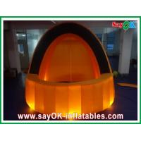 Wholesale Orange Cloth Inflatalbe Bar Airproof  For Pub / Event With Led Lighting from china suppliers