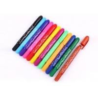 Wholesale 12 colors Eco-friendly fancy Non-toxic wax crayon set/cheaper and 12 colors rotating crayon from china suppliers