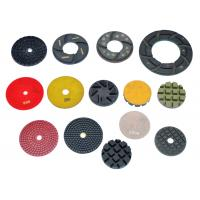 "Wholesale High Working Efficiency 3 "" 4 "" 5 "" 6 "" Resin Diamond Floor Polishing Pads from china suppliers"
