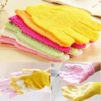 Wholesale Shower Scrubber Exfoliating Back Scrub Exfoliating Skid resistance Body Massage Sponge Bat from china suppliers