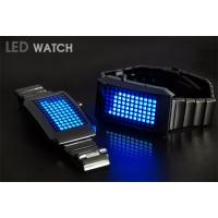 Wholesale stainless steel  Binary Led Geek Watch from china suppliers