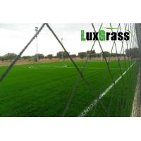 Quality LuxGrass Sport Green Synthetic Grass For Soccer Fields Abrasion Resistance PE Material Football Artificial Grass for sale