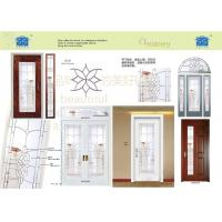 Wholesale Waterproof Sliding Glass DoorFor Bathroom Black Patina  Molded 20 Mm Thickness from china suppliers