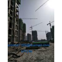 Buy cheap 8tons Load Cat Head Tower Crane TC6513 New Model 65mts Working Boom from wholesalers