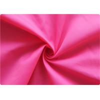 Wholesale Professional pink Polyester Elastane Fabric Garment Cloth 210-270GSM from china suppliers