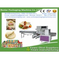 Wholesale Bestar automatic papadam packaging machine  flow pack wrapper in modified atmosphere ,papadam wrapping machine from china suppliers