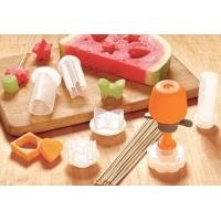 Wholesale Fruit Decoration Small Kitchen Tools White DIY Birthday Gifts 10 pcs Kit CIQ from china suppliers