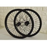 Wholesale Toray Carbon BMX Bikes 20 Inch Wheels , Carbon Fiber BMX Wheels Smooth Riding from china suppliers