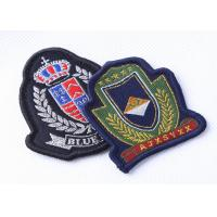 Wholesale Custom Embroidered Military Patches Beret Cap Badge , Cool Military Hat Patches from china suppliers