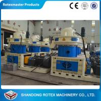 Wholesale ROTEXMASTER Vertical Ring Die Wood Sawdust Fuel Pellet production line from china suppliers