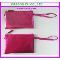 Wholesale PU leather purse for girl,  small leather purse, measure 18cmL x 11cmH from china suppliers