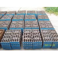 Wholesale Better Toughness High Mn Steel Mill Liners Casting For Cement Mill / Coal Mill from china suppliers