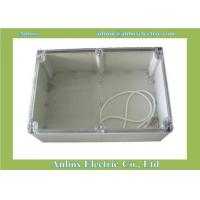 Wholesale 240*160*120mm Water-resistant ABS case for PCB electronic circuit boards transparent lid from china suppliers
