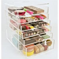 Wholesale best-seller acrylic makeup display organizer with drawer from china suppliers