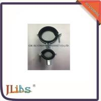 Wholesale Carton Steel M8 EPDM Rubber Lined Pipe Clamps With Mirror Polish from china suppliers
