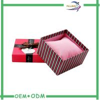 Quality Fancy Matte Red Cardboard Match Packaging Box With Screen Printing for sale