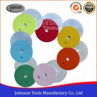 Wholesale 7 Inch Diamond Polishing Pads For Marble / Granite Various Color from china suppliers