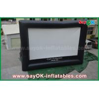 Quality Giant 10 mL x 7 mH Projection Cloth Inflatable TV Screen CE / SGS Certificate for sale