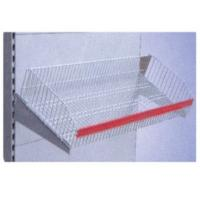 Wholesale Custom Stainless Steel Pull Out Wire Basket / Super Market Racks for Product Shelf from china suppliers