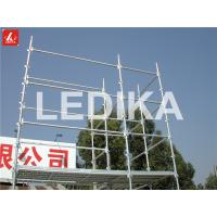 Scaffold Tower Layer Truss Plastering Working Bench Outdoor Event Truss With Wheels