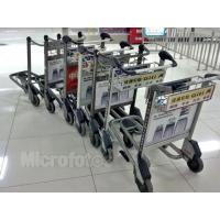 Wholesale Light Duty Automatic Brake Airport Luggage Trolley 30 Litre 520x225x150mm from china suppliers