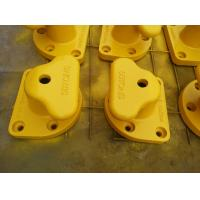 Buy cheap Yellow Mooring Components Marine Single Tee Head Dock Bollard from wholesalers