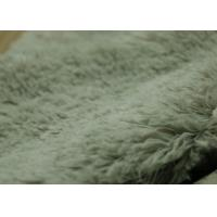 Wholesale Super Soft 12mm Pv Plush Fabric Long Pile For Pajama / Curtain from china suppliers